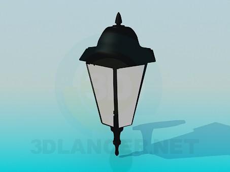 3d modeling Garden lantern model free download