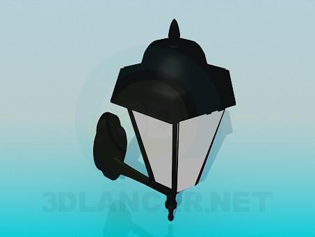 modelo 3D Linterna de jardín - escuchar