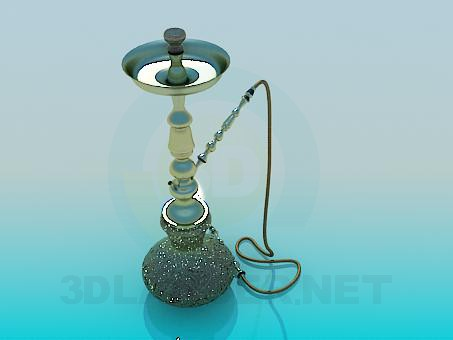 3d model Hookah - preview