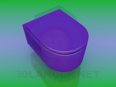 3d modeling WC model free download