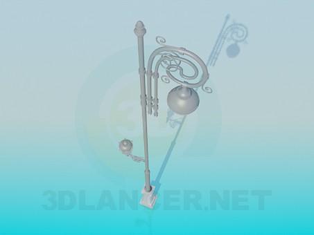 3d модель Фонарь – превью