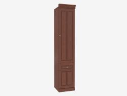 Шкаф книжный узкий (3841-26)