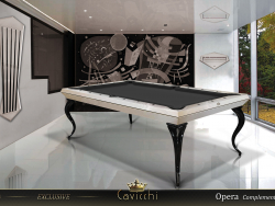 TABELA DE PISCINA EXCLUSIVA CAVICCHI OPERA BILLIARD 8ft