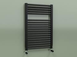 Heated towel rail NOVO (764x500, Black - RAL 9005)