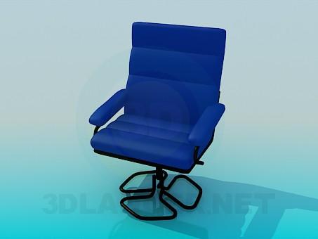 3d модель Зручне крісло – превью
