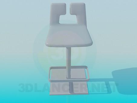3d model Bar chair - preview