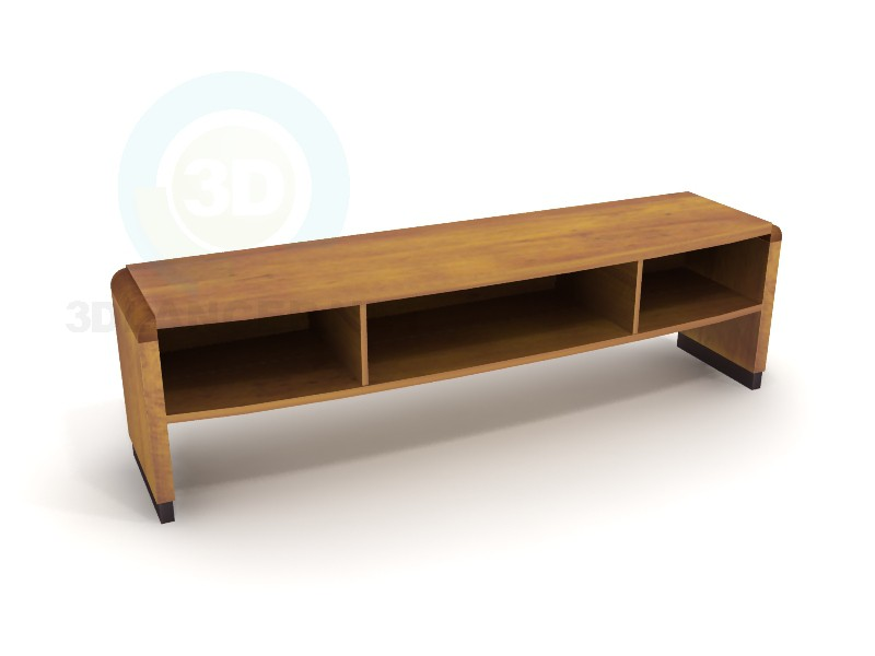 3d modeling TV stand Rock model free download
