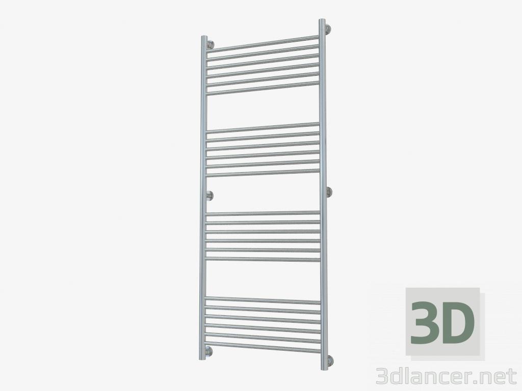3d model Heated towel rail Bohemia straight line (1500x600) - preview