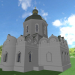 3d model Temple - preview