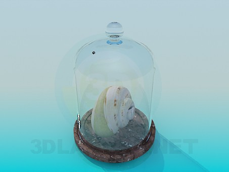 3d model Snail in the bank - preview