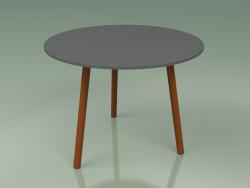 Coffee table 013 (Metal Rust, HPL Gray)