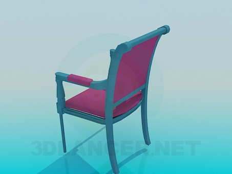 3d model Classic-style chair - preview