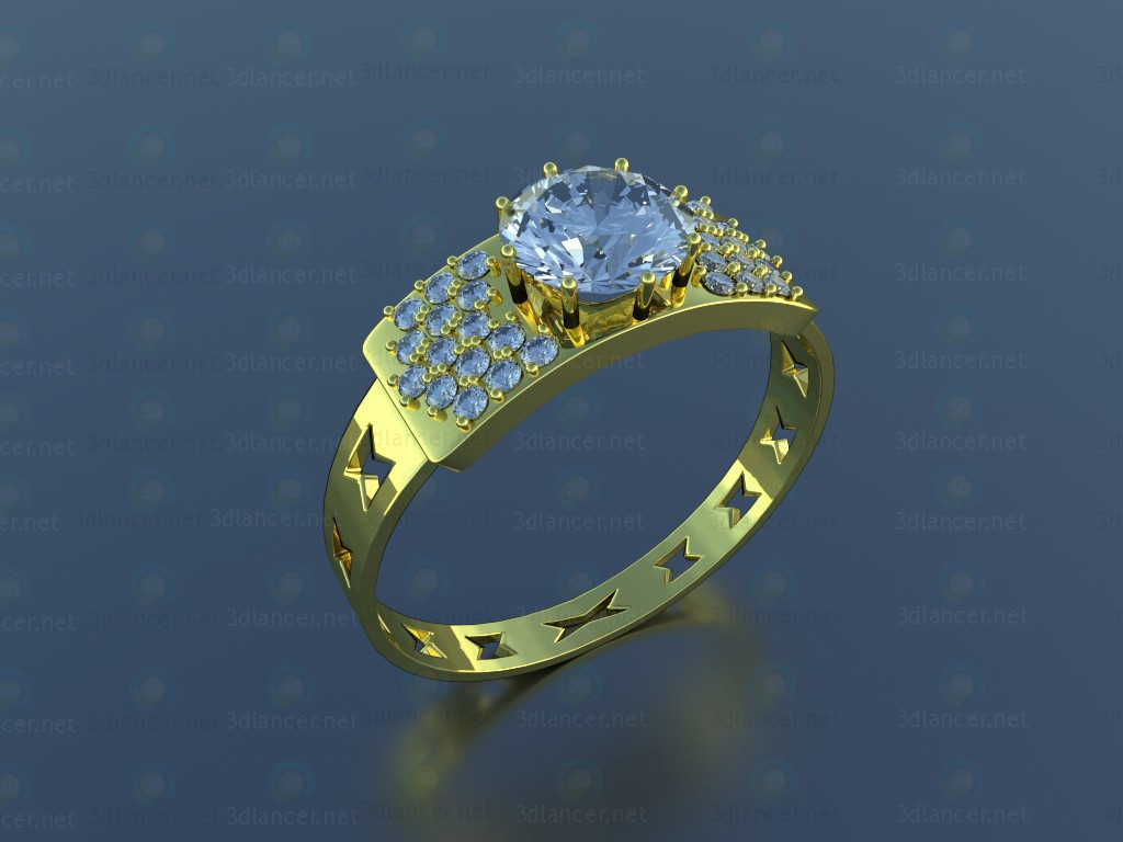 3d model Ring New - preview