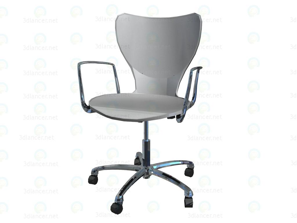 Sedie Ufficio Xxl : D modella ufficio sedia con braccioli fatto di poliammide dal