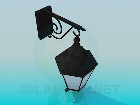 modelo 3D linterna sreet - escuchar