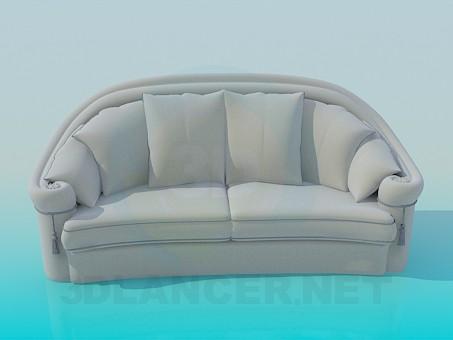 3d modeling Sofa model free download