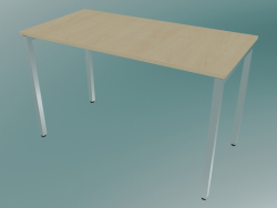 Rectangular table with square legs (1200x600mm)