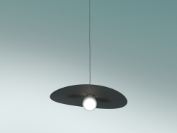 Pendant lamp Plissè Vogue (Small, Anthracite)