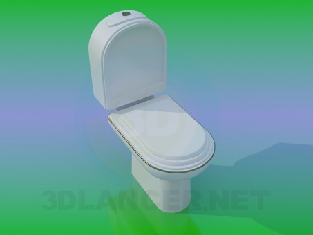 descarga gratuita de 3D modelado modelo WC