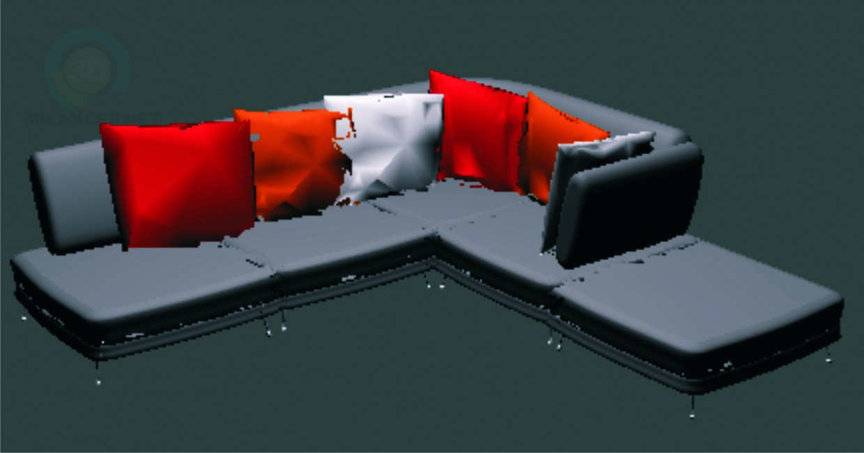 3d model Couches - preview