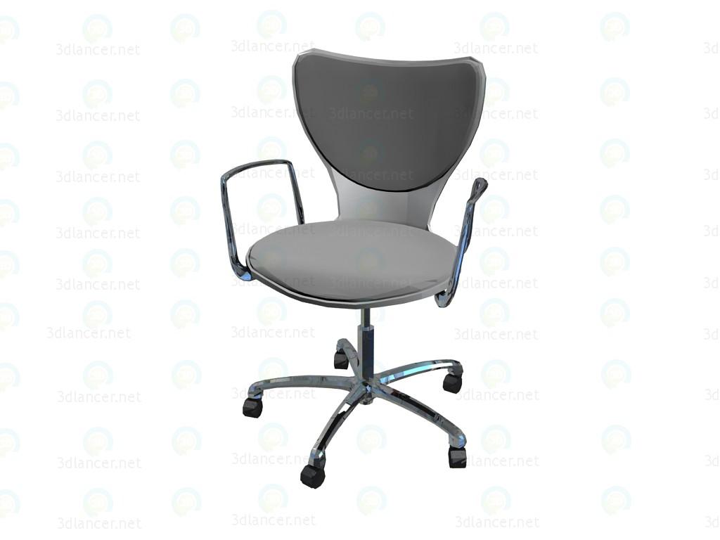 Sedie Ufficio Xxl : D modella armi sedia tessuto ufficio poliammide imbottita con in