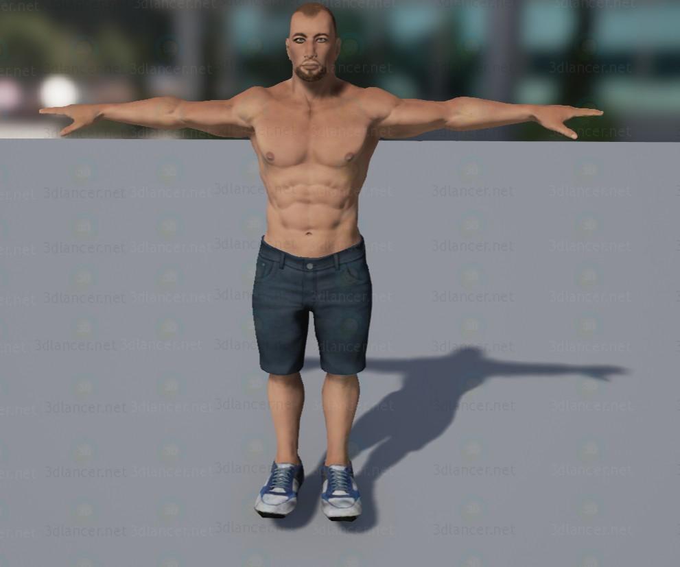 3d modeling Vova model free download