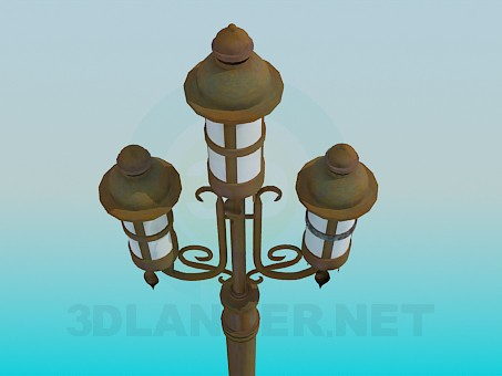 3d model Street lamps - preview