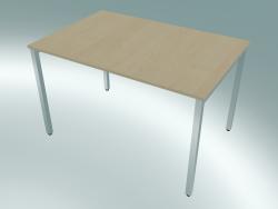 Table rectangulaire avec pieds carrés (1200x800mm)