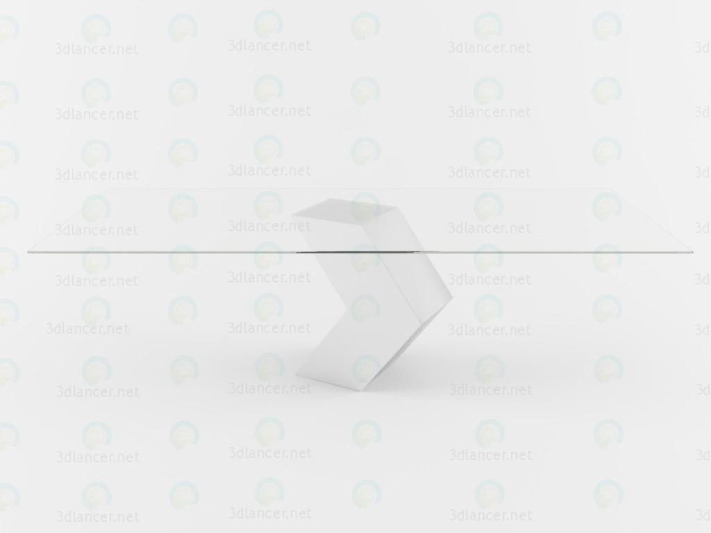 3d модель Стіл Hayat – превью