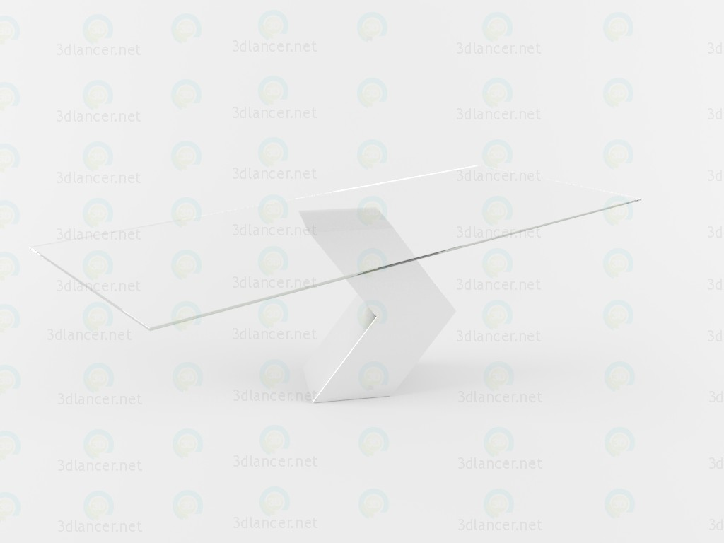 3d model Table Hayat - preview