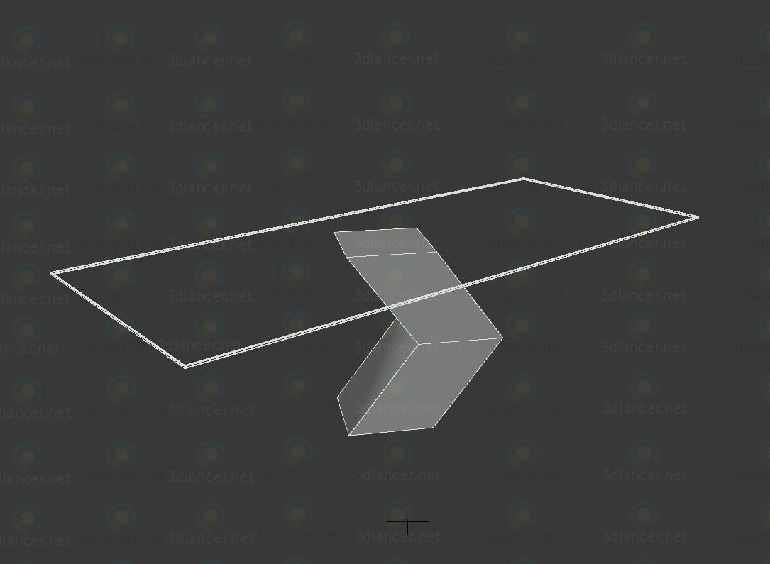 modelo 3D Mesa Hayat - escuchar