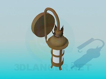 descarga gratuita de 3D modelado modelo Lámparas de calle