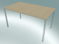 Table rectangulaire avec pieds carrés (1400x800mm)