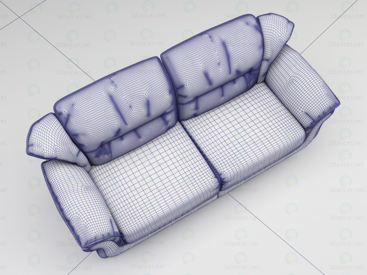 3d Sofa Belfast model buy - render