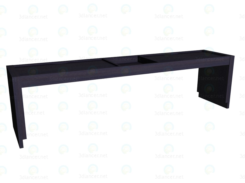 3d model The extension for the double bed 147 - preview