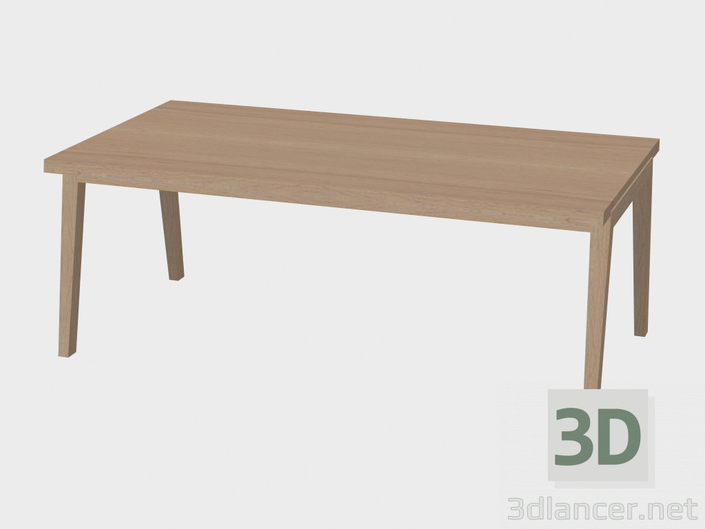 3d model dining table sh900 manufacturer carl hansen id for Dining table models