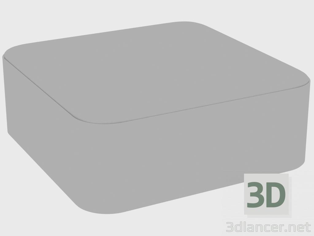 3 डी मॉडल पूफ फेलिक्स POUF SMOOTH (100x100xH38) - पूर्वावलोकन
