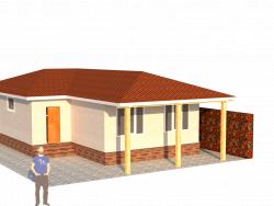 Maison de plain-pied de 80 m²