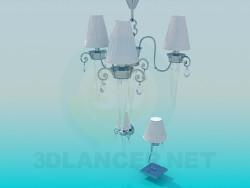 Lustre, appliques et ampoule inclus