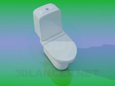 Modelo 3d WC - preview