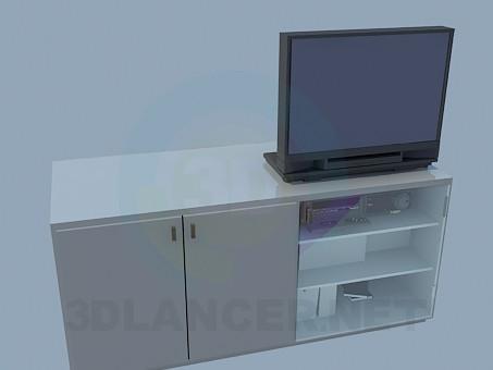 3d model Floor standing racks for TV - preview