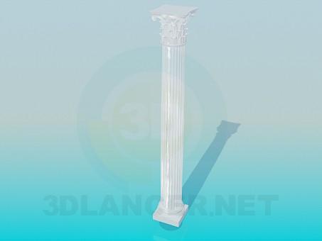 3d model Colonna - preview