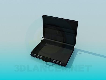3d модель Діловий портфель – превью
