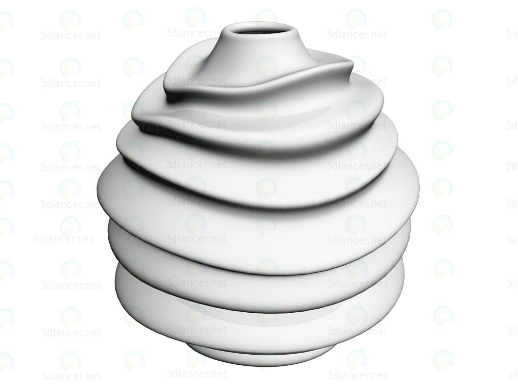 3d модель Ваза White Twist 35 – превью