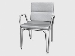 Déjeuner à manger chaise fauteuil empilable 92100 92150