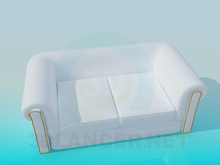 3d model Sofa - preview