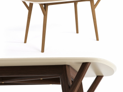 PROSO dining table from THE IDEA