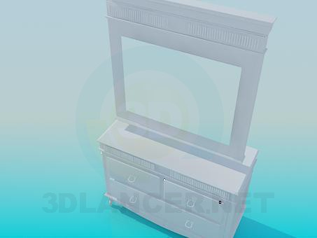 3d model Pier-glass - preview