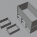 3d Stand for aquarium model buy - render