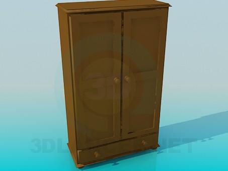 modelo 3D Pequeño armario - escuchar